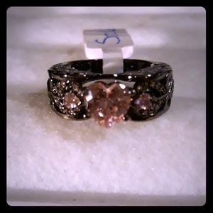 Jewelry - Angel Wings Ring - Pink